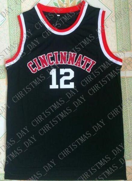 Cheap custom Oscar Robertson Cincinnati #12 jersey Stitched Customize any number name MEN WOMEN YOUTH XS-5XL