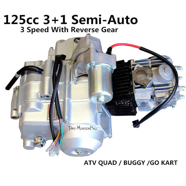 125cc Engine Motor 3 Speed Reverse 31 Semi Auto For Atv Quad Bike Dune Buggy Motorcycle Parts Suppliers Motorcycle Parts Unlimited From Pubao