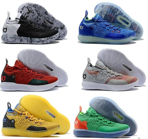 Cheap KD 11 EP Elite Basketball Shoes KD 11s Men Multicolor Peach Jam Mens Doernbecher Trainers Kevin Durant 10 EYBL All-Star BHM Sneakers
