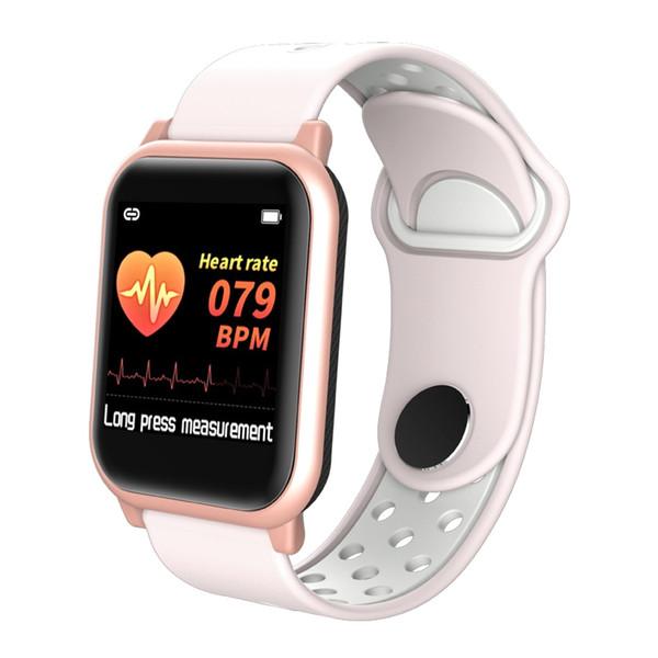Smart Watch F8S Heart Rate Monitor Women/Men Smart Watch Bracelet Band Blood Oxygen Fitness Tracker Sport PK W34 D13