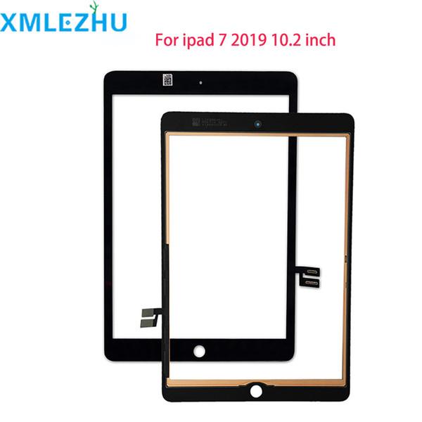 10pcs Pour iPad 7 2019 7 Gen A2197 A2198 A2200 écran tactile Digitizer panneau de verre extérieur de remplacement gratuit DHL