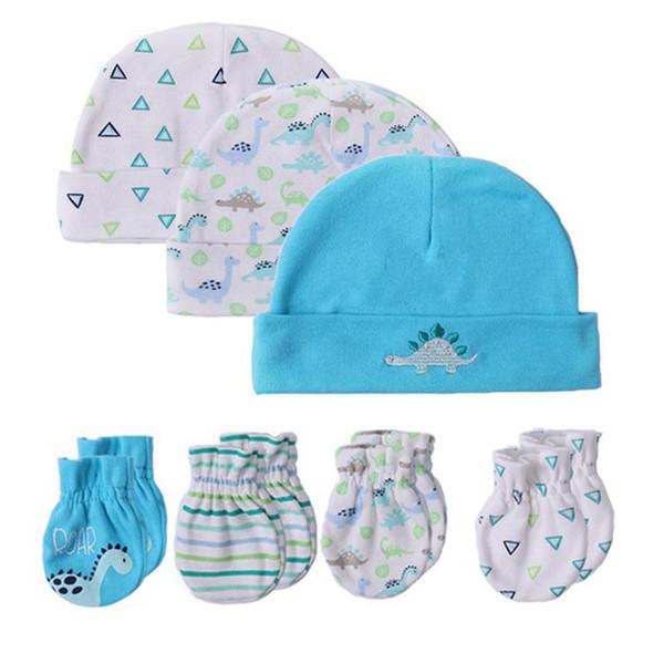 Le bébé de la mode chaud des gants pour bébés accessoiriser 100% mitaines en coton du nouveau-né fille de garçon de sécurité mitaines Scratch