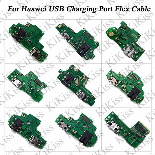 KiKiss USB Charging Port Charger Board Flex Cable For Huawei NOVA 2 2S Honor 5 6S 7 7S 7 Plus 8E NOVA 3E/P20 Dock Plug Connector