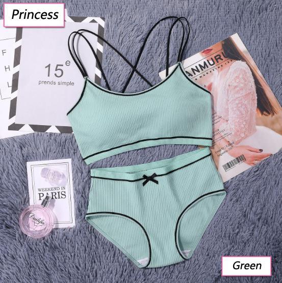 lingerie verde