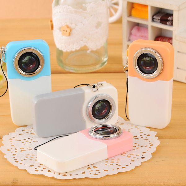 20 PCS Ballpoint Pen School Supply Creative Stationery Freebie Funny Back to School Gift Camera Mini Novel WJ082