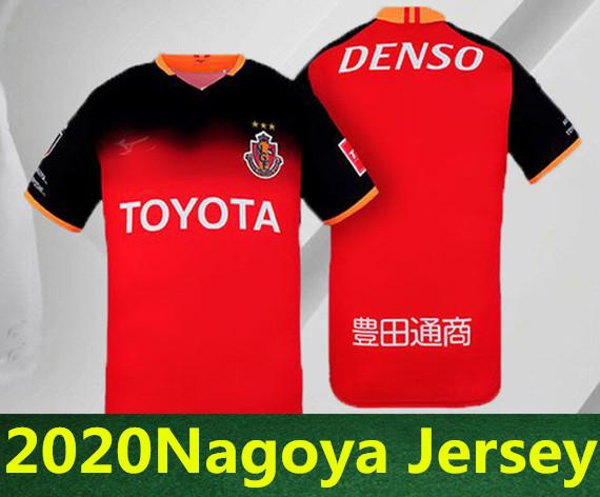 Giappone 2020 jersey Nagoya Grampussoocer # 8 URBANO # 9 ARIA # 10 XAVIER N ° 7 Jo magliette di calcio Nagoya Grampus rosso casa bianca rimessa dal jersey