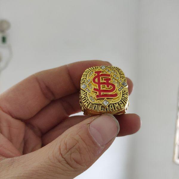2019 gros St. Louis 2006 Cardinals Championnat du Monde de Baseball Anneau Souvenir Hommes Fan Cadeau Drop Shipping