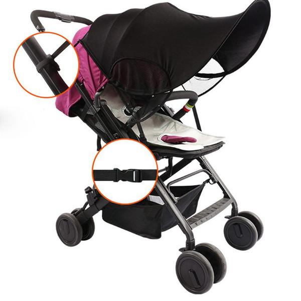 Baby Stroller Toldo Sun Rays Capa do pára-sol carrinhos Acessórios Pram Buggy Carrinho de assentos de carro de Proteção Solar Criador For Kids