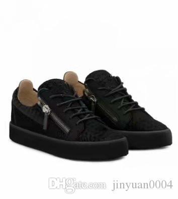 Schwarzes Krokodilkornleder des freien Verschiffens der Qualität für Schuhe der Männer und der Frauen, hochrangige Modeturnschuhe chaoliu my889606