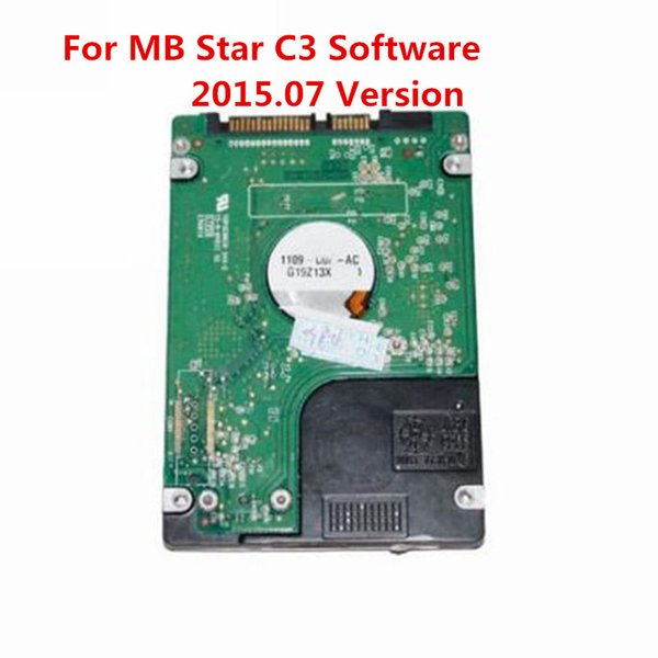 2015.07 Latest Version C3 HDD For MB Star C3 Software for Benz Auto Diagnostic Tool Promotion with Technical Free Shipping