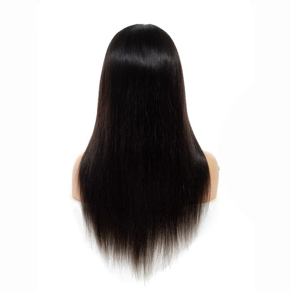 180% Density Lace Front Human Hair Wigs Brazilian Straight Human Hair Wigs Pre Plucked 4*4 Lace Closure Wig For Women Remy Hair