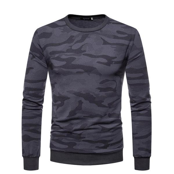 Yeni varış erkek tasarımcı kazak Kamuflaj yuvarlak boyun kazak erkekler kazak Ter-shirt ceket kış patchwork hoodie kazak J1811119