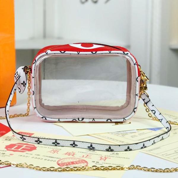 Nuova borsa del progettista di lusso di modo del cuoio genuino che fa la scatola di ricevuta del progettista la borsa di lusso eccellente di stampa di grande capacità di modo 67610