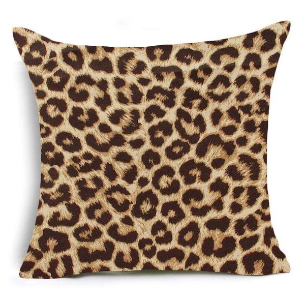 45x45cm único lado-Animal Leopard 12
