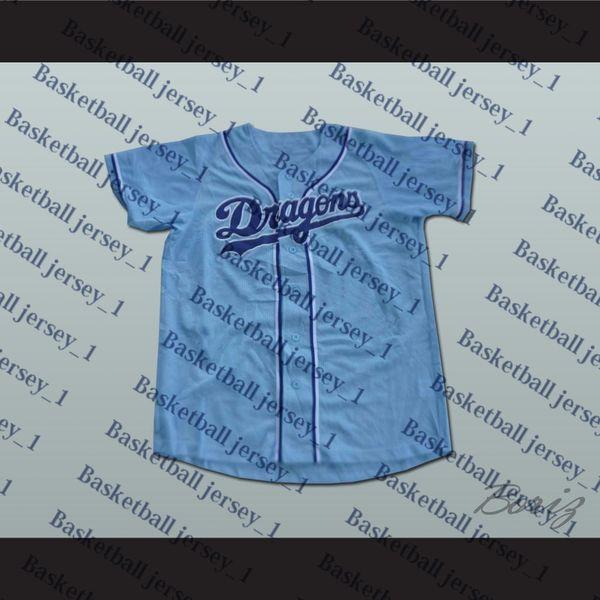Chunichi Dragons Jack Elliot Mr. Baseball Filme Jersey NOVO Ponto Costurado