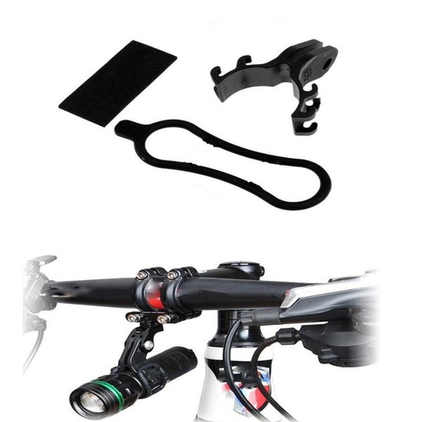 Bicycle Light Torch Flashlight Holder Clip Mount Bracket Light Game Number Card Clip MTB Road Bike Accessories for Gopro Mount #79039