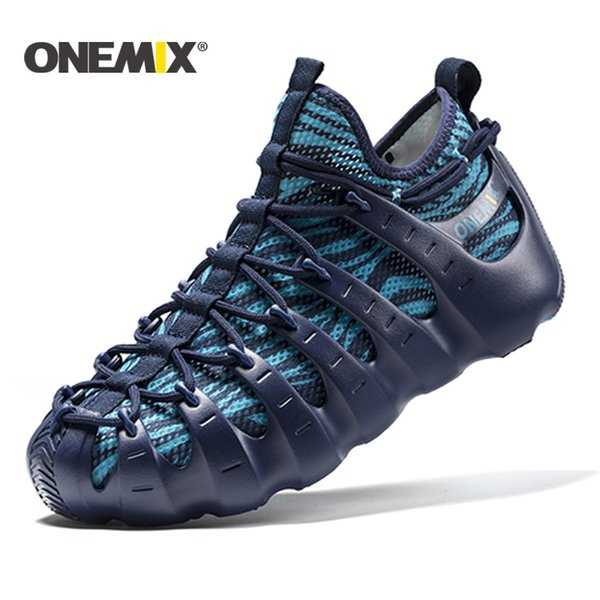 Großhandel Onemix 2017 Männer Strand Sandalen Rom Schuhe Gladiator Set Schuhe Licht Kühlen Outdoor Walking Socke Wie Pantoffel Joggen # 115180 Von