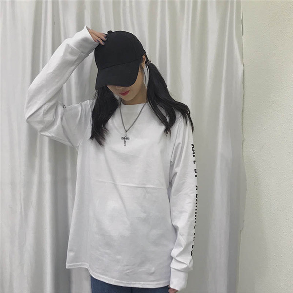 19ss New Designer Woemen Brand pullover Fashion Casual Long Sleeve T-shirts Blouse Top High Quality Hoodies Sweatshirts Size M-2XL B101432Q