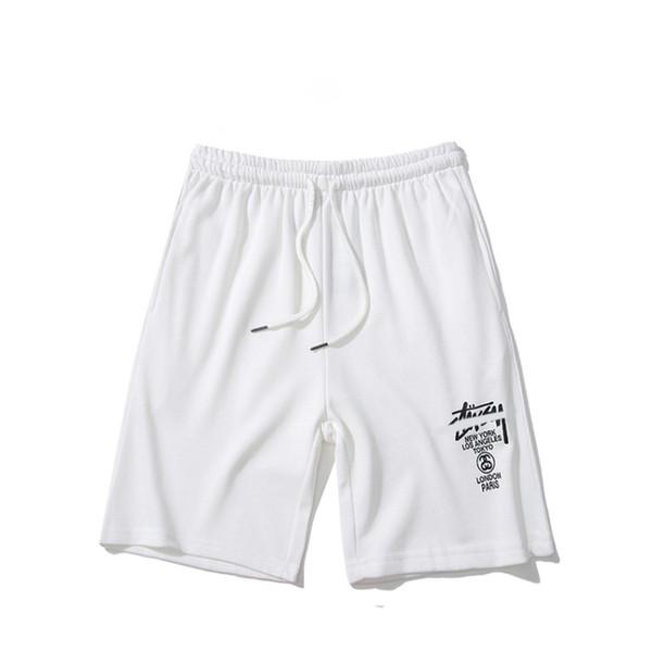 Best selling fashion shorts men's luxury STUSSYs T-shirt American tide brand couple pants graffiti printed panties street mens womens trend