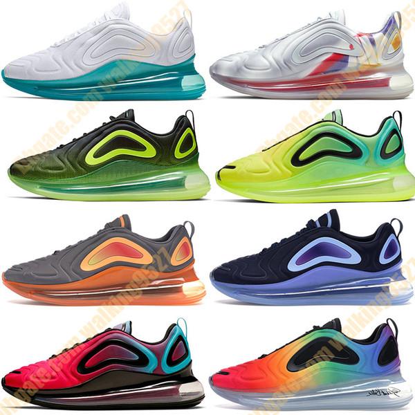 top popular 2019 Be True Men Running Shoes Pride Spirit Teal Easter Pack Obsidian Iridescent Mesh Fuel Orange Women Mens Trainers Sport Sneakers 36-45 2019