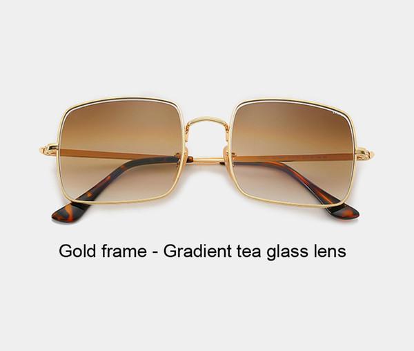 gold gradient tea