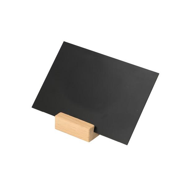 best selling Plastic Black Cardboard PVC Chalkboard Sign Rack Blackboard Stand Store Promotion Sign Stand Price Display POP Label Billboard
