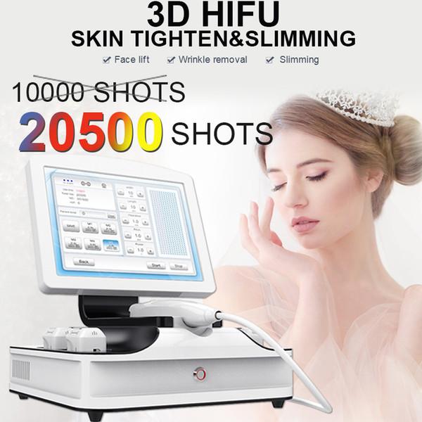 2019 Best 3D HIFU Face Lift machine non surgical wrinkle removal Skin Lifting Ultrasound HIFU Skin Rejuvenation Anti Aging Equipment