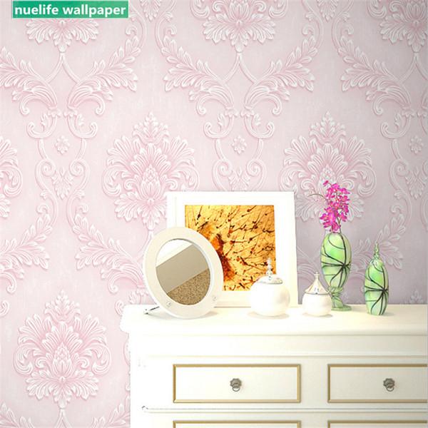 Estilo europeo patrón de flores grandes sala de estudio sala de estar dormitorio boda niños hotel decoración fondo papel de pared