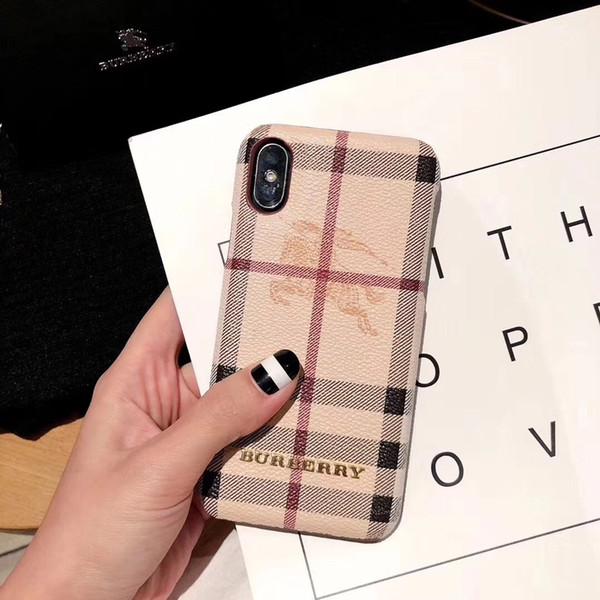 Lujosa funda de teléfono de diseñador para iPhone X XS Max XR TPU de alta calidad Fono de impresión Volver cubierta de piel para IPhoneX 8 8 plus 7 7 plus 6 6 s más