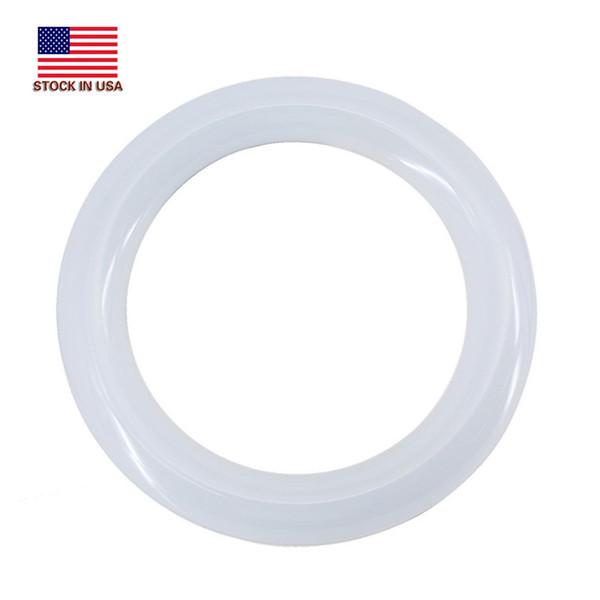 9 LED Circline Bombilla - 8 pulgadas 10W 6000K Blanco frío 1200LM 8