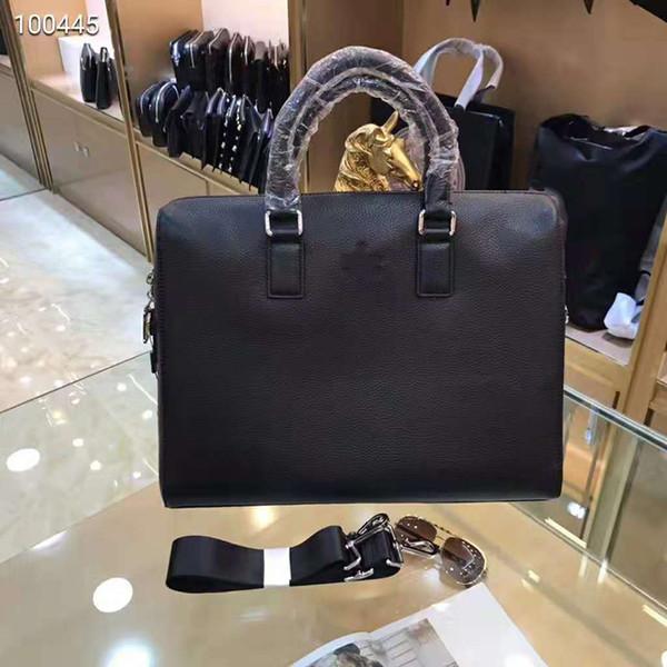 Pink sugao Gbrand nuevo estilo para hombre Maletín Bolsas de negocios de cuero genuino Mens Messenger Bag tote hombres bandolera Crossbody para el trabajo
