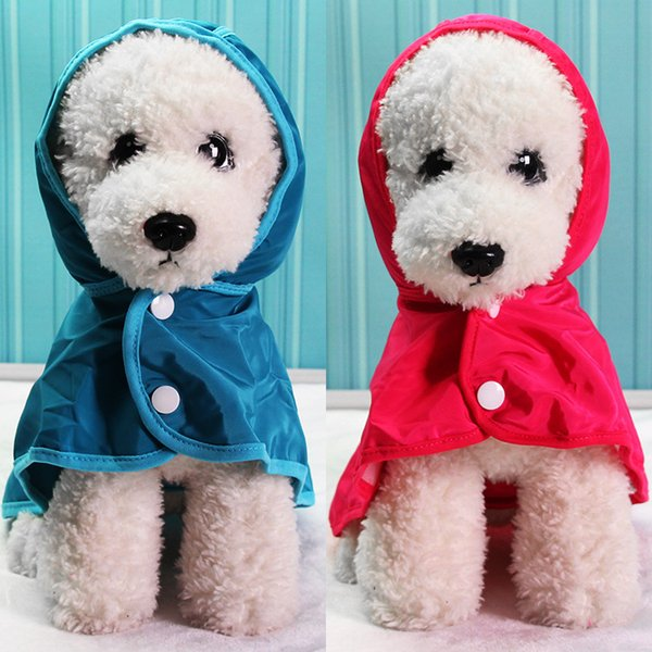 Pet raincoat Small dog high quality puppy waterproof raincoat fashion animal printing Sunscreen Cat Dog coat factory wholesale