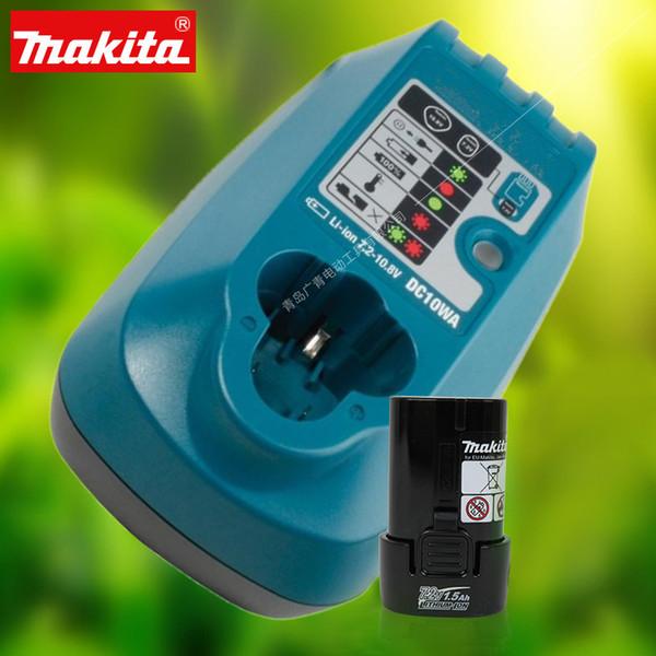 Japão MAKITA 7.2 V bateria de lítio DF012DSE carregador elétrico broca BL0715 chave de fenda elétrica