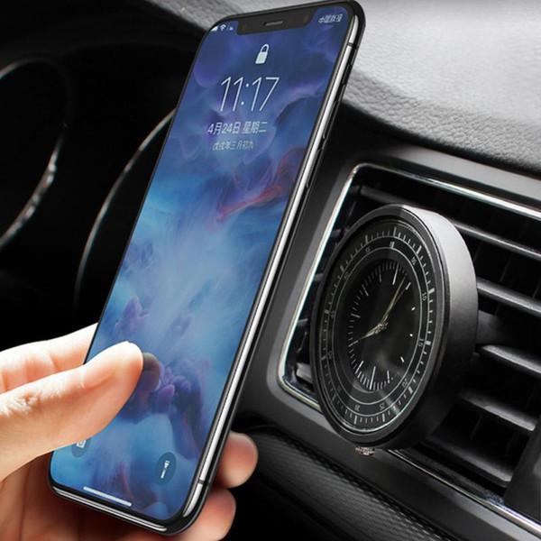 Новая Поддержка Магнитный Аттракцион Противоударный Автомобильный Держатель Телефона Форма Часы Мини Автомобильный Держатель Телефона Стенд
