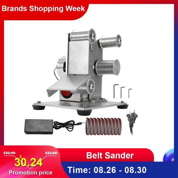 best selling Multifunctional Professional Grinder Mini Portable Electric Belt Sander DIY Polishing Grinding Machine Cutter Edges Sharpener