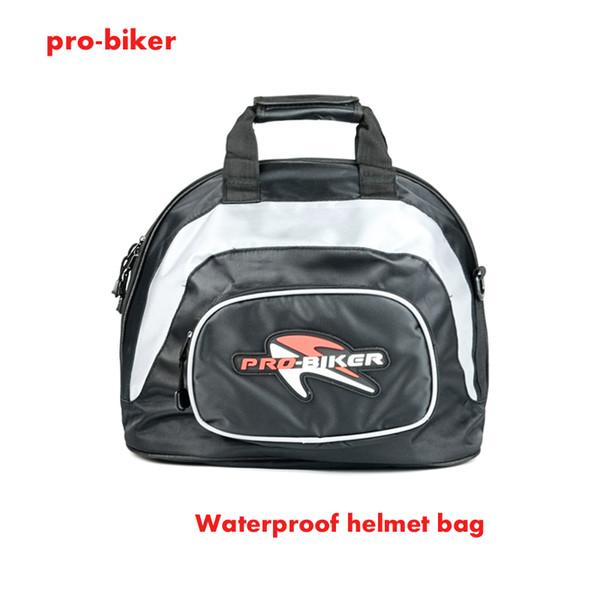 Quality 2018 new Pro-Biker Motorcycle Helmet bag Motocross Racing Package Waterproof Sports Shoulder Bags BLACK traval tail bag
