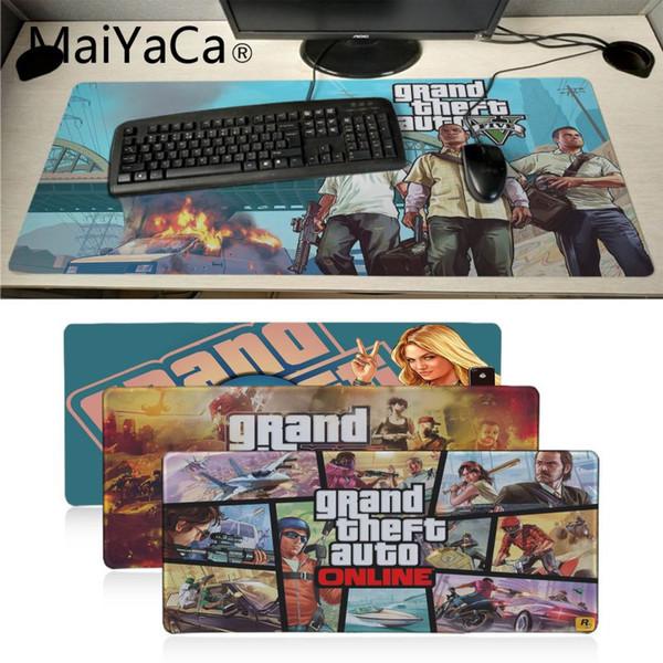 MaiYaCa Boy Gift Pad GTA 5 HD Wallpaper Laptop Gaming Mice Mousepad Soft  Rubber Professional Gaming Mouse Pad Gamer Keyboard Mouse Pad With Gel  Wrist