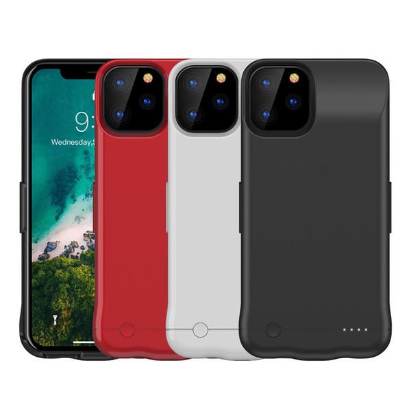 Perakende Paketi ile iPhone 11 pro max için 5200 Mah Pil Kılıf Taşınabilir Telefon Yedekleme Şarj edilebilir Genişletilmiş Şarj Kılıf