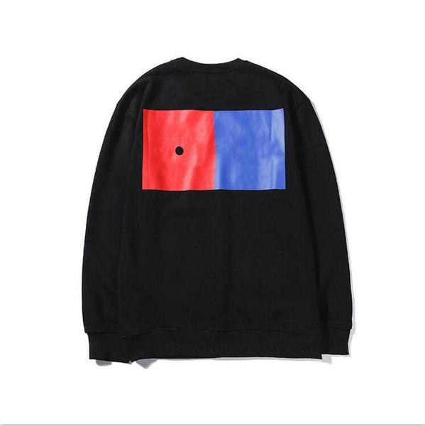 Marka Erkek Tasarımcı Kapüşonlular Lüks Erkekler Kapüşonlular Streerwear Moda Markalı Kazaklar Uzun Kollu dört yapraklı yonca Giyim 2 Renkler