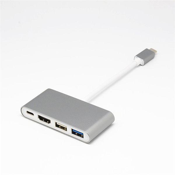 Typ C Stecker auf HDMI USB PD Lade-Hub USB C Adapter für Laptop-Dockingstationen