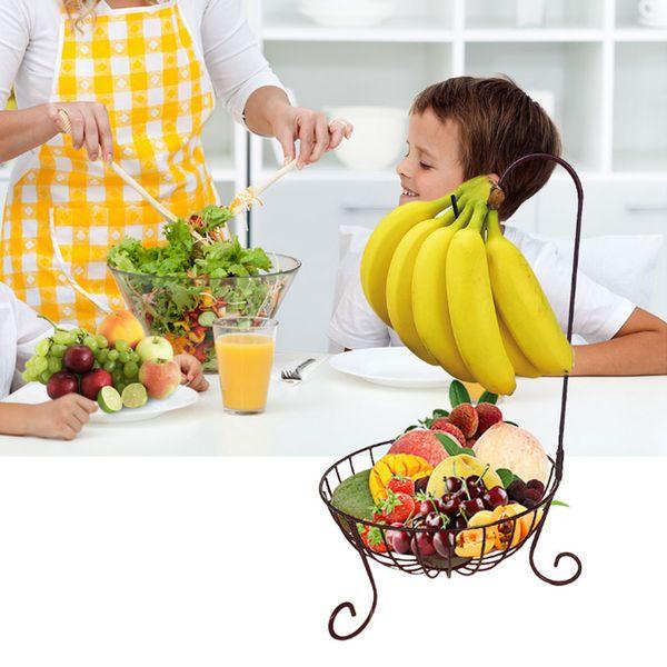 2019 Fruit Basket Banana Hanger Stand Fresh Storage Kitchen Holder Serving  Bowl From Xiaomei886809, $11.36 | DHgate.Com