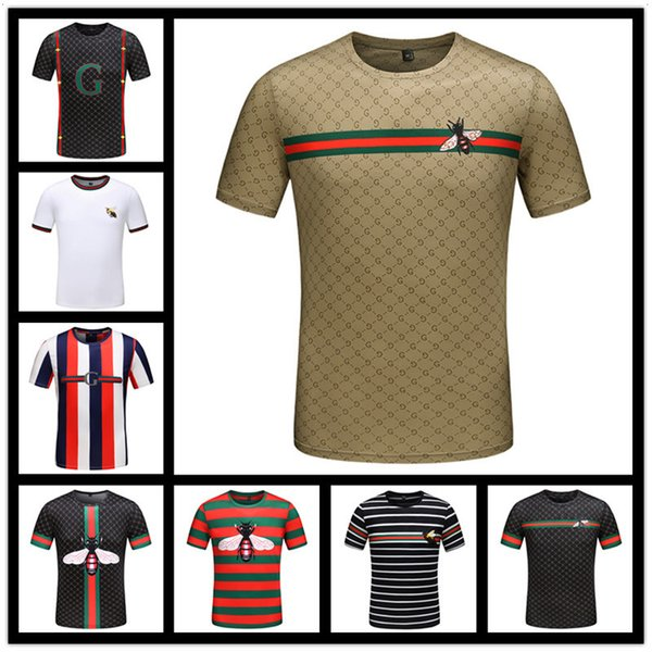 2018 Lujo Europa Malletier París 1854 alta calidad Graphiclogo camiseta moda hombre mujer camiseta Casual algodón camiseta Top