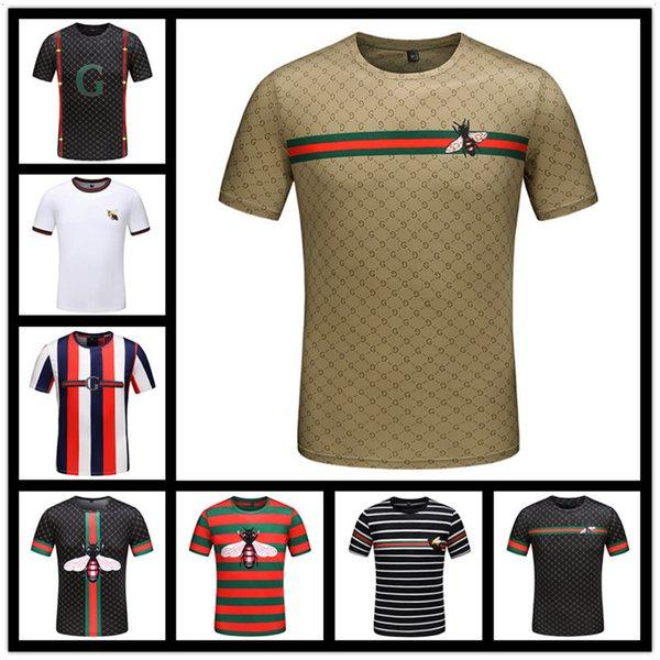 2018 luxus Europa Malletier Paris 1854 Hohe Qualität Graphiclogo T-shirt Mode Männer Frauen T-shirt Casual Baumwolle T Top