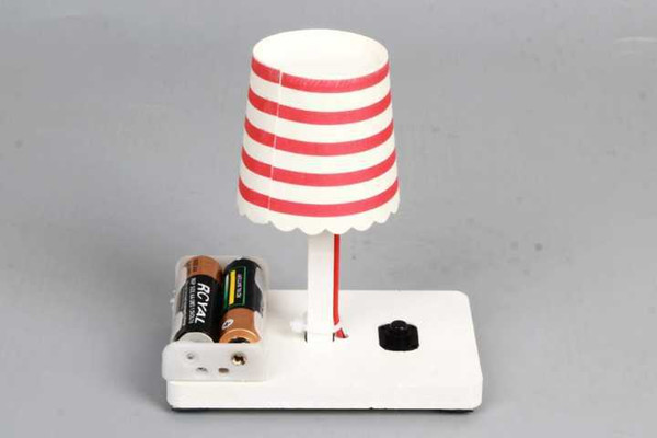 top popular Creative Small Table lamp Children's scientific experiment Toys elementary school science and technology invention handmade 2021