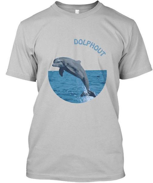 T-shirt unisex padrão de Dolphout