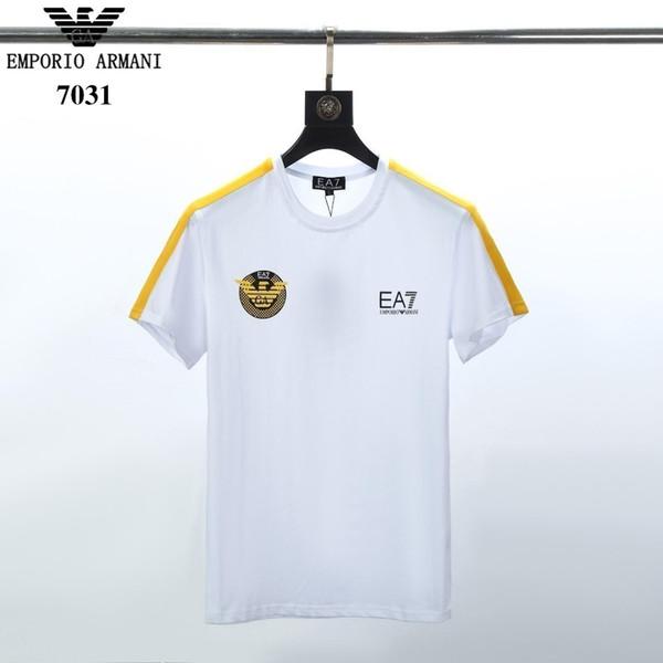 2019 verão novo homem de manga curta camiseta 2d19417018671208