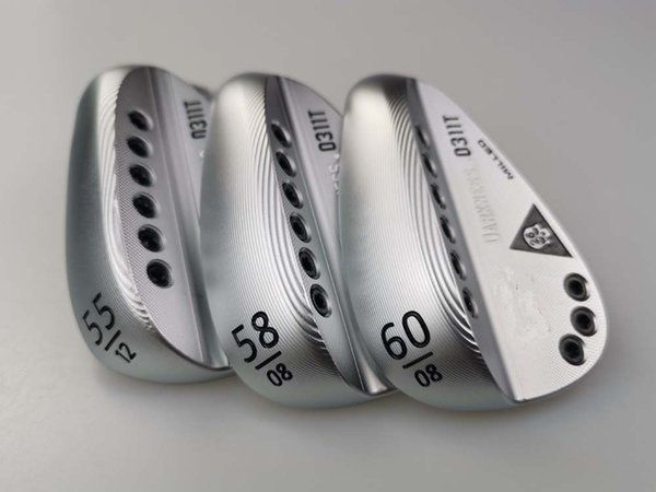 Men's golf clubs 0311T silver skull wedges, 55/58/60, dedicated shaft, with rod cover,free shipping