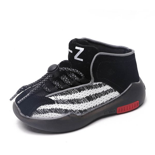 Fashion kids shoes kids trainers casual kids sneakers chaussures enfants boys shoes girls shoes girls trainers boys sneakers retail A9768