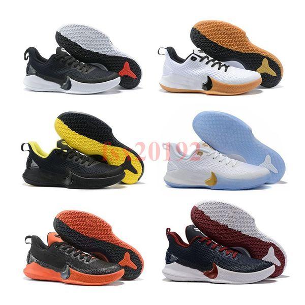 2019 nueva llegada Kobe MAMBA FOCUS EP zapatos casuales para hombre de alta calidad KB 7 entrenamiento negro amarillo zapatos casuales tamaño 40-46
