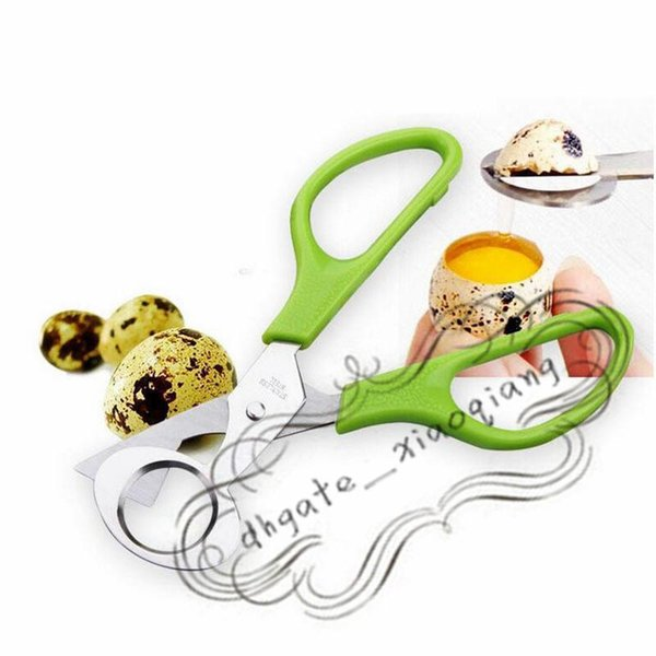 Küchenwerkzeug Wachtelei Schalen Schere Cracker Opener Zigarrenschneider Edelstahl Klinge Werkzeug Haushaltswerkzeug Schere